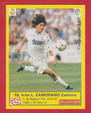 Real Madrid Ivan Zamarano 10